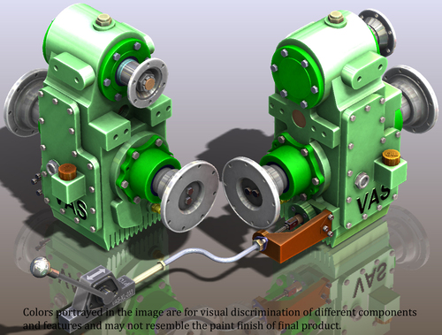 DLP : DRIVE LINE POWER TAKE OFF GEARBOX UNITS