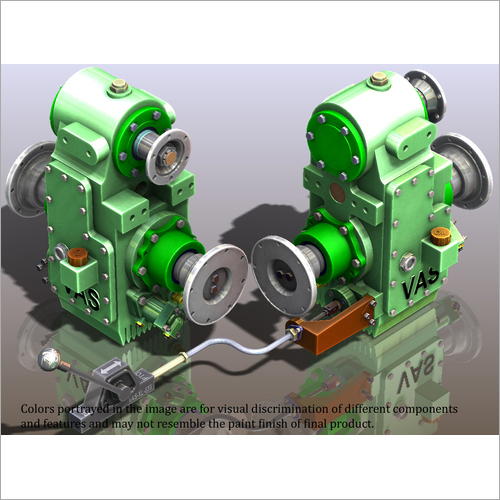DRIVE LINE PTO GEARBOX UNITS FOR FIRE FIGHTING VEHICLES