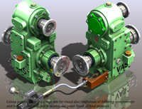 VAS V6+DH-PN PTO GEAR BOX FOR 180 HP FIRE FIGHTING VEHICLES TATA, AL, AMW 2516,2518,2521