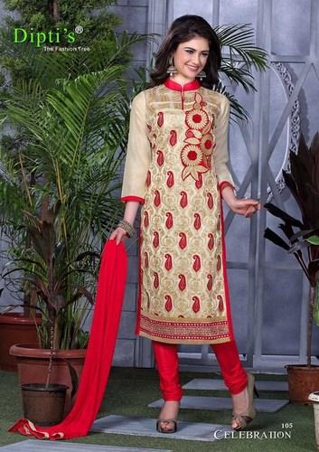 Ladies Designer Churidar Suits