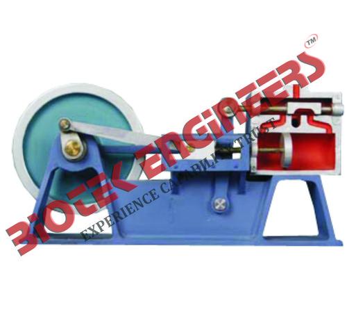 Model Of Piston Valve Steam Engine