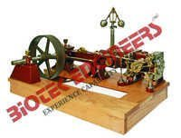Model of Corliss Valve Steam Engine