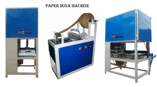 SILVER HYDROLIC PAPER PLATE MAKING MACHINE