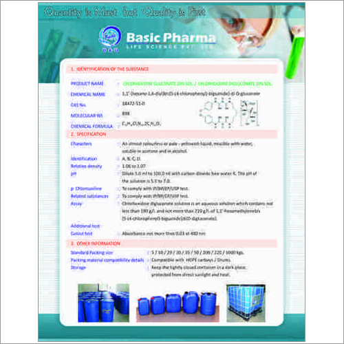Chlorhexidine Gluconate BP
