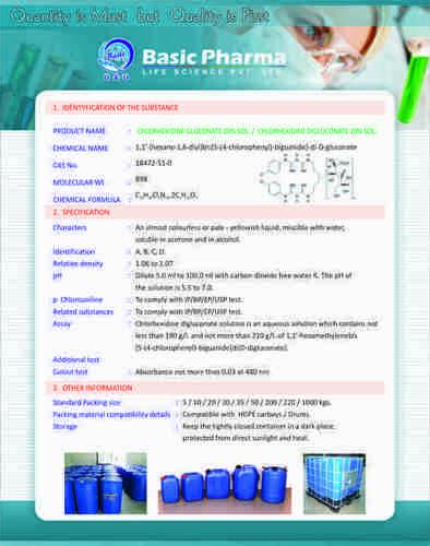 Chlorhexidine Gluconate EP