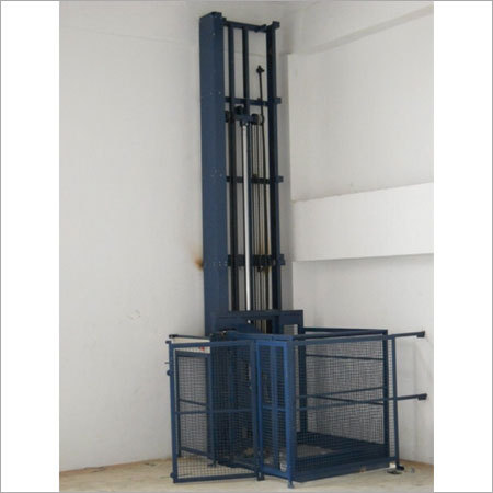 Single Mast Hydraulic Vertical Goods Lift