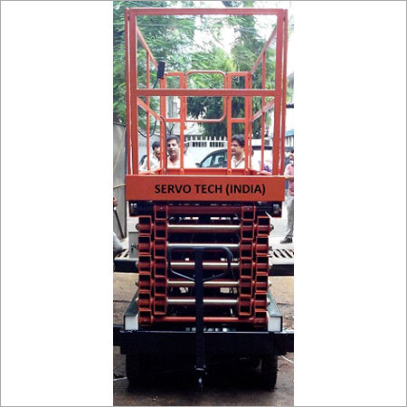 High Rise Hydraulic Scissor Lift