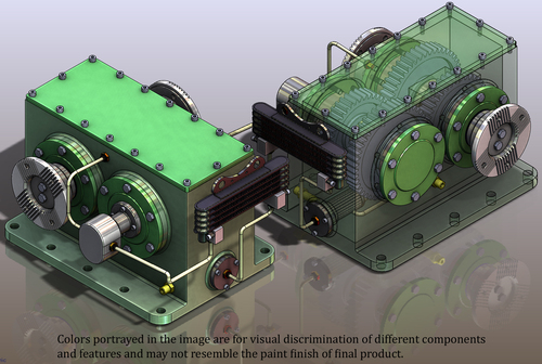 SGB : STEP UP GEARBOX UNITS
