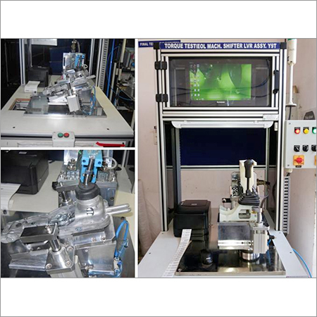 Torque Testing Machine for Gear Shifter
