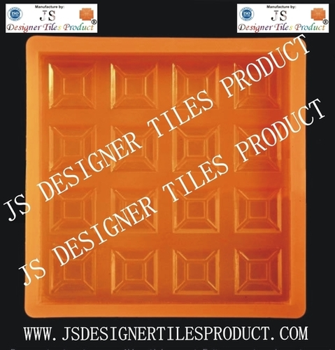 Chequered Tiles Silicone Pvc Mould