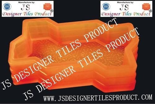 Zig Zag Silicone Pvc Paver Blocks Mould
