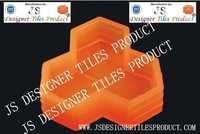 Trihex Silicon Pvc Paver Blocks Mould