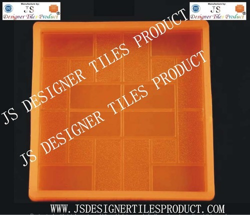 Chequered Tiles Silicon Pvc Mould