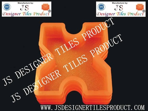 Grass Paver Silicon Pvc Paver Blocks Mould