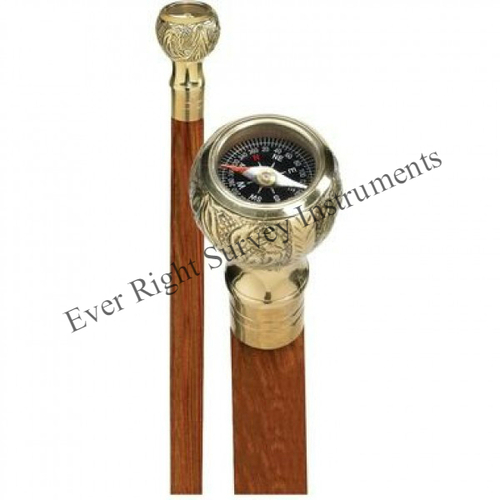 Walking Stick with Compass