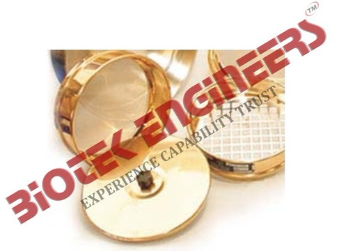 Test Sieves mentioned above and lid & pan