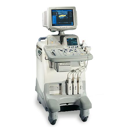 Refurbished GE Logiq 5 ultrasound machine.