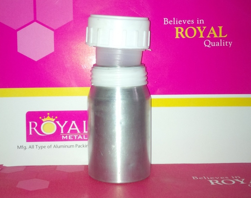 Aluminium Pill Bottle