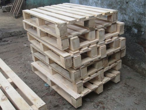 Industrial Pine Wood Pallet