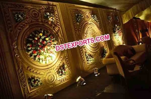 Traditional Indian Wedding Backdrop Panels