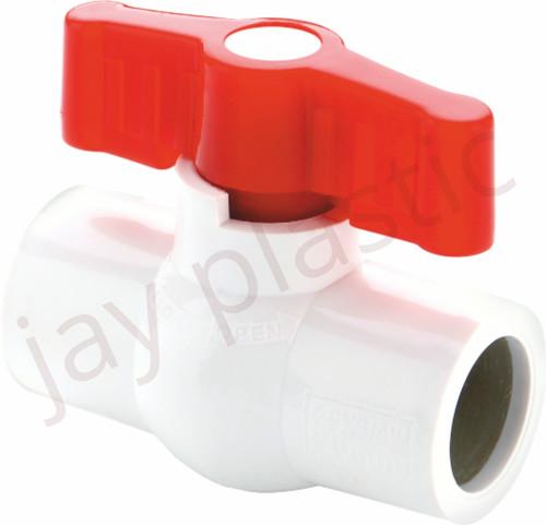 Heavy duty UPVC ball valve