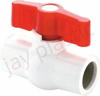 Heavy duty UPVC ball valve