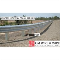 W Beams Highway Crash Barrier