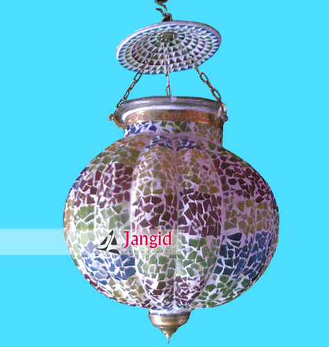 Indian Decorative Glass Lamp