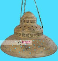 Vintage Metal Lamp Shade Design