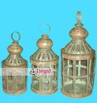 Iron Rustic Handmade Lantern Sets