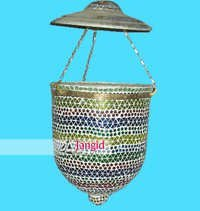 Traditional Designer Handcrafted Hanging Glass Lamps