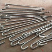 J Type Galvanized  Anchor Bolts