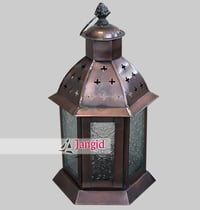 Indian Home Decor Brass Candle Lantern