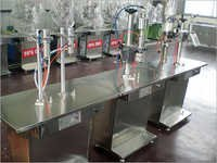 Semi Automatic Aerosol Filling Machine