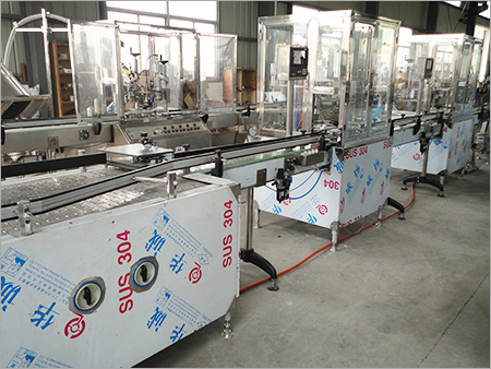 Automatic Bag on Valve Filling Machine
