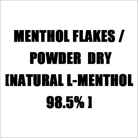 Menthol Flakes