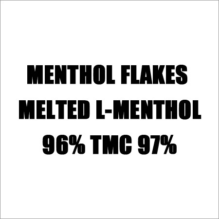 Melted Menthol Flakes