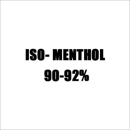 ISO- Menthol  90-92%