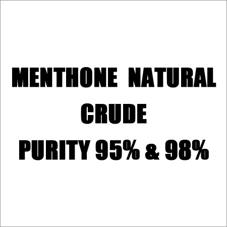 Menthone  Natural Crude Purity 95% & 98%