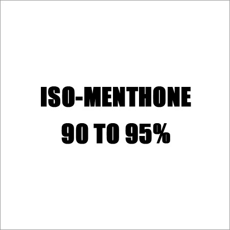 ISO-Menthone 90 TO 95%