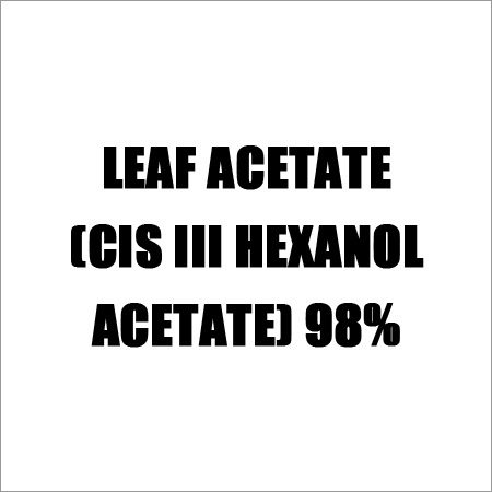 Leaf Acetate (CIS III HEXANOL ACETATE) 98%