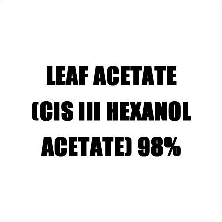 Leaf Acetate (CIS III HEXANOL ACETATE) 98%