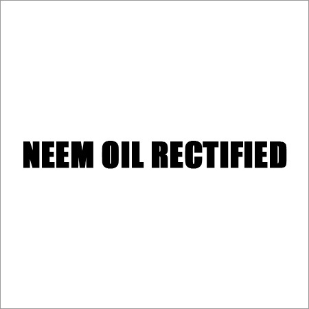 Neem Oil Rectified