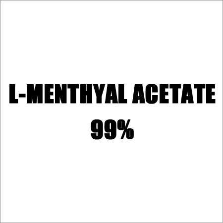 L-menthyal Acetate 99%