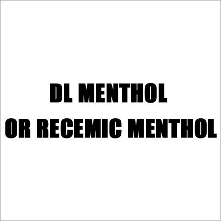 Racemic Menthol Oil