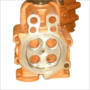 Cylinder Head With Valve
