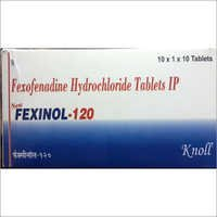 Fexofenadine Hcl 120 Tablets