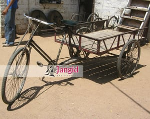 Indian Improvised Vintage Cycle Cart