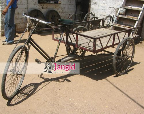 Indian Improvised Vintage Cycle Cart