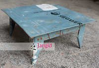 Indian Vintage Metal Sheet Stool